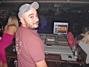 Dimitris Sotiropoulos at work