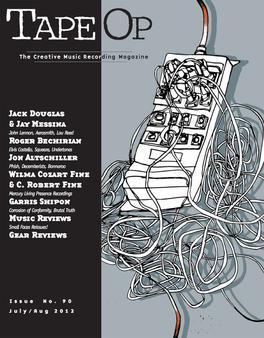 sound design live larry crane tape op magazine