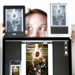 Nathan Livley with eReaders 400px